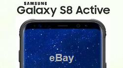 SAMSUNG GALAXY S8 ACTIVE G892A GRAY for AT&T/T-MOBILE/METRO/CRICKET GSM UNLOCKED