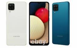 SAMSUNG Galaxy A12 2021 64GB Mobile Smart Phone Unlocked Black Blue White