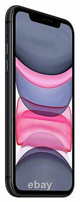SIM Free Apple iPhone 11 6.1 Inch 64GB 12MP 4G Dual Sim iOS Mobile Phone Black