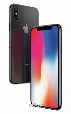 SIM Free Apple iPhone X 5.8 Inch 256GB 12MP Mobile Phone Space Grey