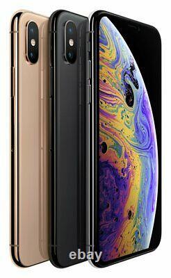 SIM Free Apple iPhone Xs 5.8 Inch 64GB 12MP 4G iOS Dual Sim Mobile Phone Gold
