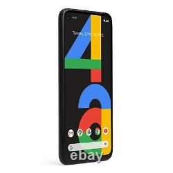 SIM Free Google Pixel 4a 5.7 Inch 128GB 12.2MP 4G Android Mobile Phone Black