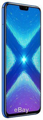 SIM Free Honor 8X 6.5 Inch 64GB 16MP Dual Sim Mobile Phone Blue