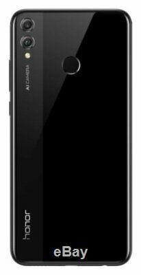SIM Free Honor 8X 6.5 Inch 64GB 20MP Dual Sim Mobile Phone Black