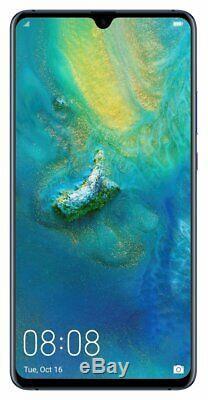 SIM Free Huawei Mate20 X 7.2 Inch 2.6GHz 128GB 40MP Dual Sim Mobile Phone Blue