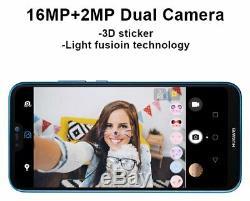 SIM Free Huawei P20 Lite 5.84 Inch 64GB 16MP Mobile Phone Black