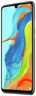 SIM Free Huawei P30 Lite 6.15 Inch 128GB 4GB 48MP Android Mobile Phone Black