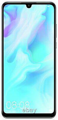 SIM Free Huawei P30 Lite 6.15 Inch 128GB 4GB 48MP Android Mobile Phone White