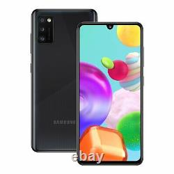 SIM Free Samsung A41 6.1 Inch 64GB 48MP 4G Android Mobile Phone Black