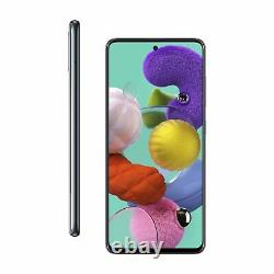 SIM Free Samsung A51 6.5 Inch 128GB 48MP 4G Android Mobile Phone Black