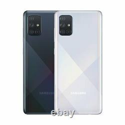 SIM Free Samsung A71 6.7 Inch 128GB 64MP 4G Android Mobile Phone Silver