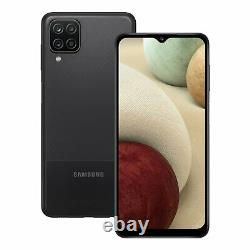 SIM Free Samsung Galaxy A12 6.5 Inch 64GB 48MP 4G Android Mobile Phone Black