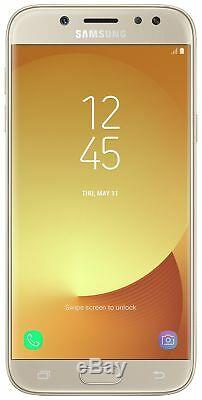 SIM Free Samsung Galaxy J5 2017 5.2 Inch 16GB 13MP Mobile Phone Gold