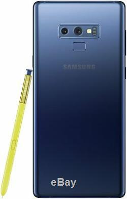 SIM Free Samsung Galaxy Note 9 6.4 Inch 128GB 12MP 4G Mobile Phone Blue