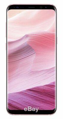 SIM Free Samsung Galaxy S8 5.8 Inch 4GB 64GB 12MP 4G Mobile Phone Pink