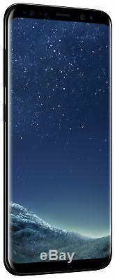 SIM Free Samsung Galaxy S8 5.8 Inch 64GB 12MP 4G Mobile Phone Black