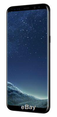 SIM Free Samsung Galaxy S8 Plus 6.2 Inch 64GB 12MP Mobile Phone Black