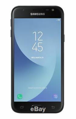 SIM Free Samsung J3 2017 5 Inch 16GB 13MP Mobile Phone Black