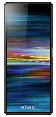 SIM Free Sony Xperia 10 6 Inch 64GB 13MP 4G Android Mobile Phone Black