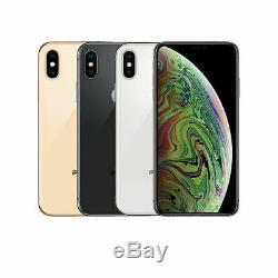 SR Apple iPhone XS 64GB 256GB 512GB Verizon Sprint AT&T T-Mobile UNLOCKED