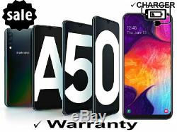 Samsung Galaxy A50 64GB Black GSM Factory Unlocked AT&T / T-Mobile Worldwide