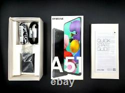Samsung Galaxy A51 5G 128GB Black GSM Unlocked ATT T-Mobile Cricket A515U with BOX