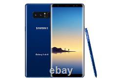 Samsung Galaxy Note8 SM-N950U T-Mobile AT&T Verizon (Unlocked) B Heavy Shadow
