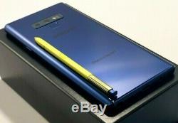 Samsung Galaxy Note9 N960U1 AT&T/SPRINT/METRO/T-MOBILE/VERIZON FACTORY UNLOCKED