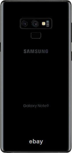 Samsung Galaxy Note 9 128GB N960U Unlocked Black Smartphone AT&T T-Mobile Sprint