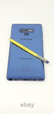 Samsung Galaxy Note 9 128GB, SM-N960U, (Unlocked) GSM, AT&T, T-Mobile Ocean Blue