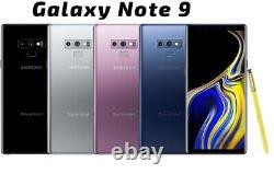 Samsung Galaxy Note 9 N960U Unlocked T-Mobile Verizon Boost Straight Talk Total