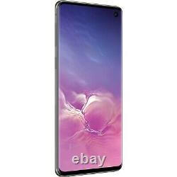 Samsung Galaxy S10 Black Sprint AT&T T-Mobile Verizon Factory Unlocked Good