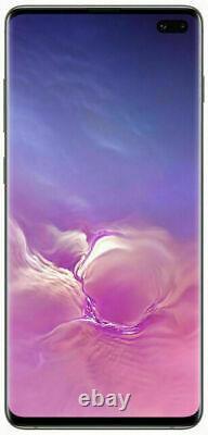 Samsung Galaxy S10 Plus G975U 128GB Factory Unlocked Verizon AT&T T-Mobile Black