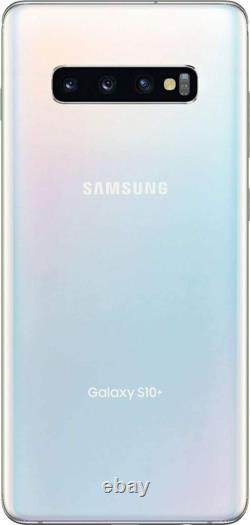 Samsung Galaxy S10+Plus G975U 128GB Factory Unlocked Verizon AT&T T-Mobile White