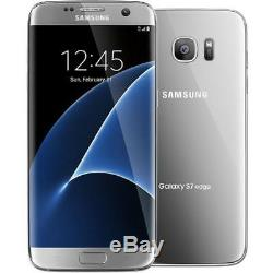 Samsung Galaxy S7 Edge, G935T, Silver (GSM Unlocked AT&T / T-Mobile) Smartphone