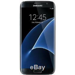 Samsung Galaxy S7 Edge G935 32GB Black Factory Unlocked AT&T / T-Mobile