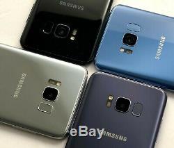 Samsung Galaxy S8 G950U AT&T/SPRINT/T-MOBILE/VERIZON CARRIER UNLOCKED EXCELLENT