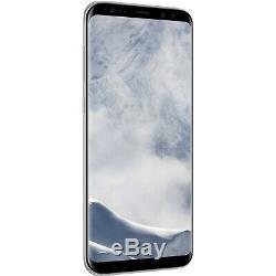 Samsung Galaxy S8 Plus G955U Factory Unlocked (Verizon AT&T T-Mobile) Silver