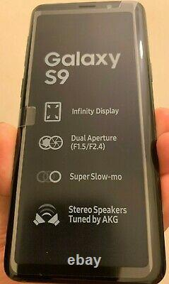 Samsung Galaxy S9 G960F 64GB Factory Unlocked Smart Mobile Brand New UK STOCK