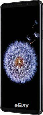 Samsung Galaxy S9+ Plus 64GB Midnight Black Verizon T-Mobile AT&T Smartphone