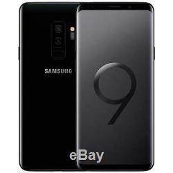 Samsung Galaxy S9 Plus SM-G965 64gb Unlocked Sim Free Mobile Phone Black