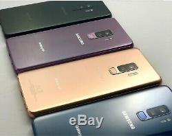 Samsung Galaxy S9+ Plus Sm-g965u Black 64gb Metro T-mobile Customers Free Ship