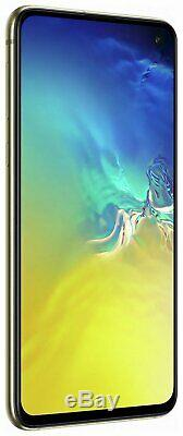 Sim Free Samsung Galaxy S10e 5.8 Inch 128GB 16MP 4G Mobile Phone Yellow