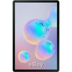 UNLOCKED Samsung Galaxy Tab S6 SM-T867 128GB, Wi-Fi + 4G (T-Mobile), 10.5 in