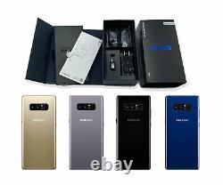 UNUSED Factory Unlocked Samsung Galaxy NOTE 8 64GB Black T-Mobile Verizon AT&T