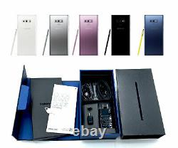 UNUSED Factory Unlocked Samsung Galaxy NOTE 9 128GB Black T-Mobile AT&T Cricket