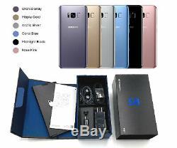 UNUSED Samsung Galaxy S8 64GB CDMA GSM Verizon ATT T-Mobile Sprint Unlocked