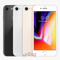 Unlocked Apple iPhone 8 64GB 256GB (GSM) AT&T T-Mobile & Worldwide