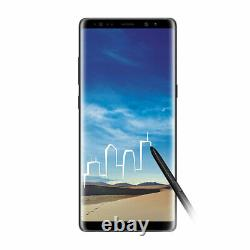 Unlocked Samsung Galaxy Note 8 N950U Black AT&T T-Mobile Cricket Boost Total A