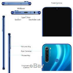 Xiaomi Redmi Note 8 64GB FHD Snapdragon 665 Octa Core 4G Smartphone 4Cam Mobile